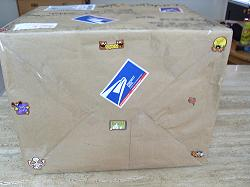 I loved getting stickers all over my care packages.