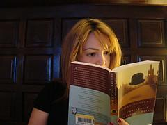 What is nicer than a great book...under a warm light bulb?