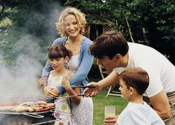 Barbecues and family values - what a combination
