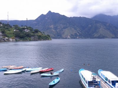 San Pedro at Lake Atitlan in Guatemala